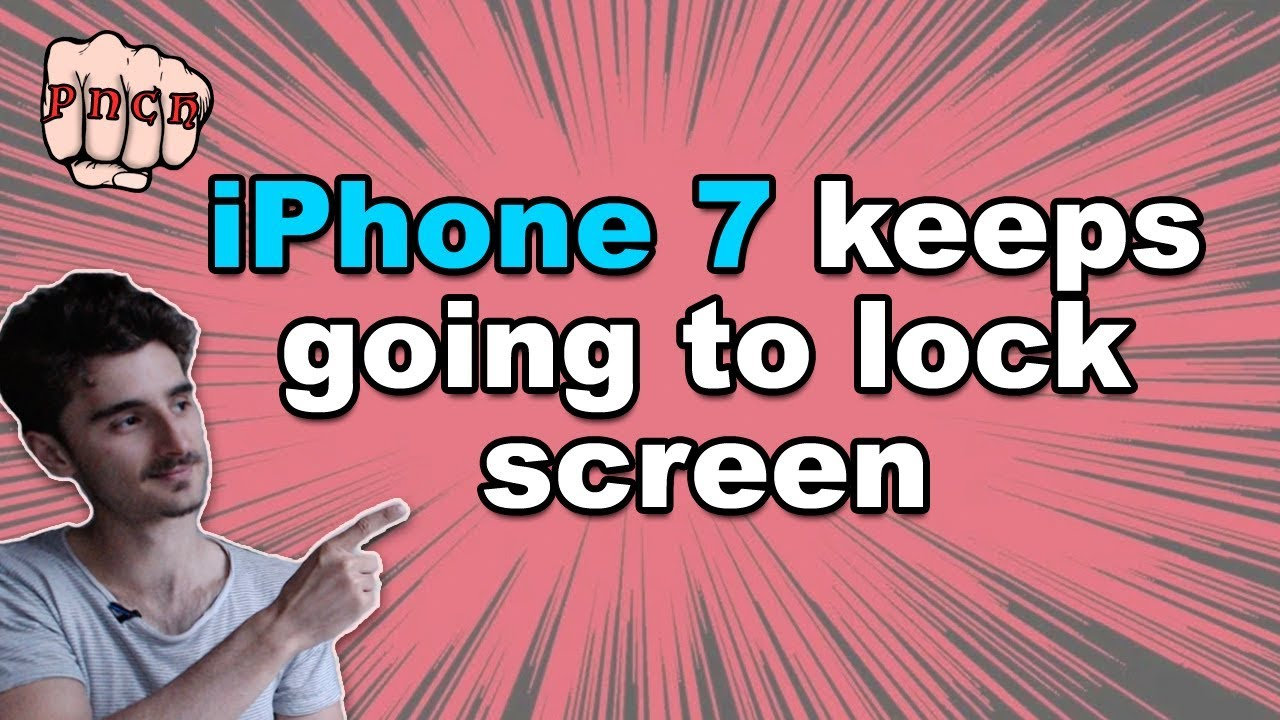Fix to: iPhone 7 keeps going to lock screen - iphone keeps restarting