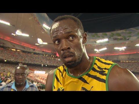 WCH 2015 Beijing - Usain Bolt JAM 200m Semi Final