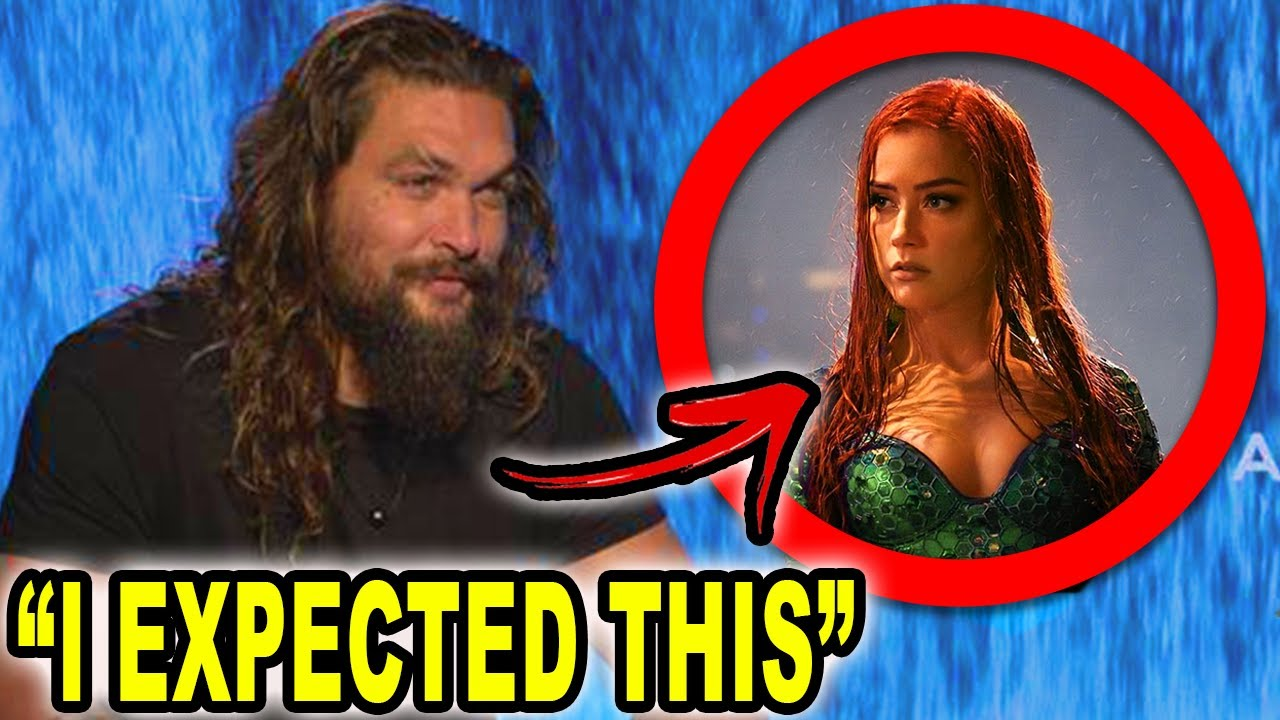 Amber Heard Hasn't Been Fired From Jason Momoa's 'Aquaman 2'
