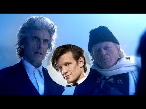 Matt Smith Sighted on the Set for Doctor Who: Twice Upon a Time!