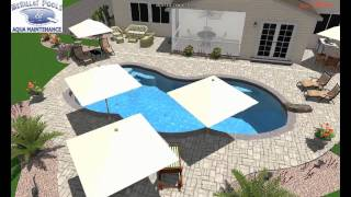 merillat pools clover w raised beam