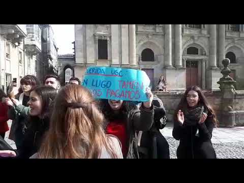 Estudiantes de Magisterio se manifiesta por la falta de un profesor