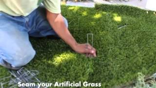 How to Install Artificial Grass: Part 2 - Application