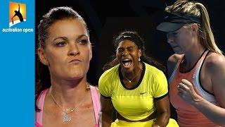 Top 5 women's hot shots | Australian Open 2016