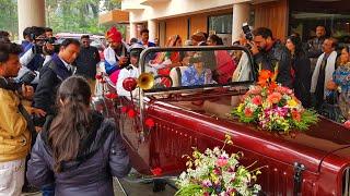 Богатая индийская свадьба / Встреча с Креосан / Индийские танцы