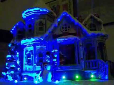 Musical Lights Christmas House