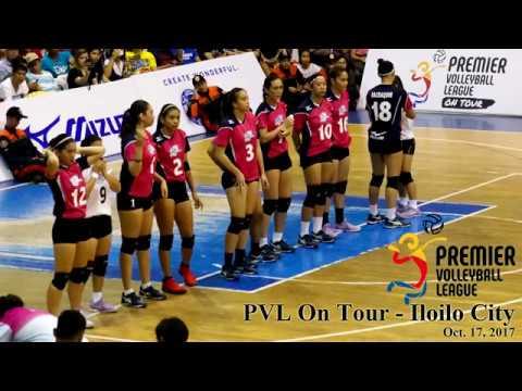 PVL On Tour - Iloilo - 10/17/2017 - Air Force vs. Pocari Sweat / Perlas vs. Creamline (highlights)