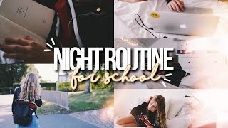 BACK TO SCHOOL NIGHT ROUTINE! - Night routine for school 2017!