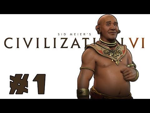 Let's Play: Civilization VI -- Deity Khmer! -- Part 1