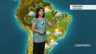 Previsão Brasil – Chuva aumenta no Nordeste