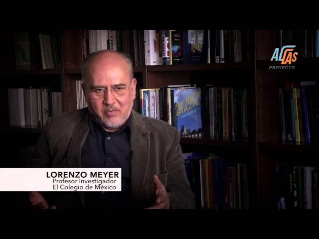 Lorenzo Meyer,  Profesor e Investigador del Colegio de México