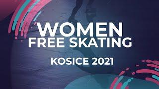 Sofia Muravieva RUS WOMEN FREE SKATE PROGRAM Kosice Week 3 2021 JGPFigure