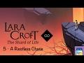 Lara Croft GO: Shard of Life - Cave of Fire Level 5 A Restless Chase Walkthrough