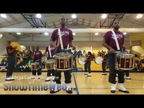 Talladega College Drumline - 2018 Madison High Drumline Competition