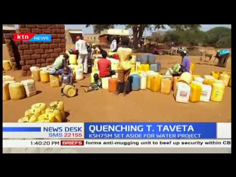 Ksh.75M set aside for water project in Taita Taveta