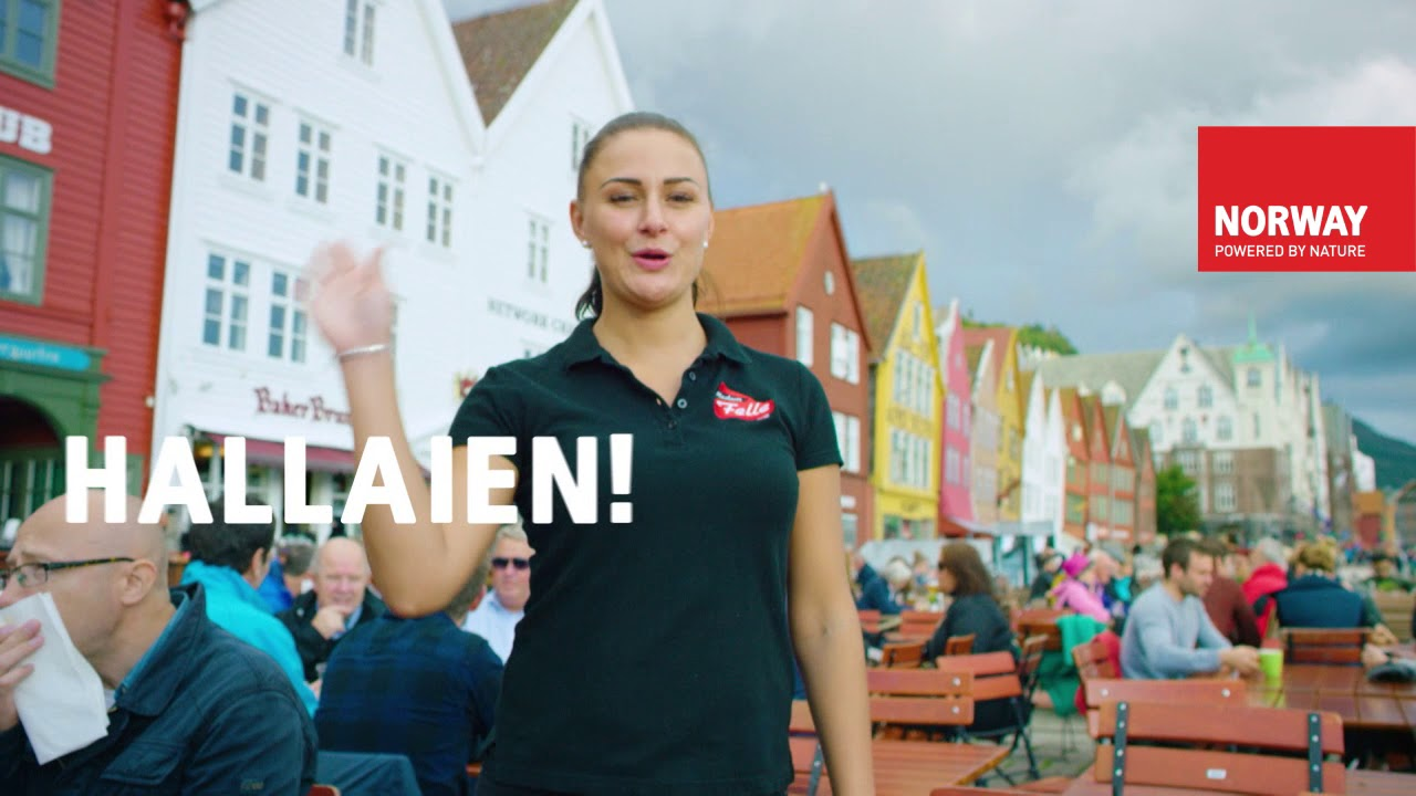 Thumbnail: Hallaien! Fly with Norwegian to Bergen - UNESCO City of Gastronomy!