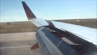Southwest Airlines 737 Smooth Landing in Denver (KDEN) with Funny Flight Attendant *HD*