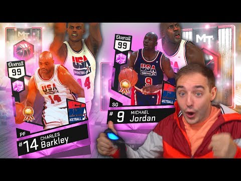 NBA 2K17 My Team PINK DIAMOND BARKLEY & PINK DIAMOND JORDAN ARE MINES! WE HAVE DONE IT!