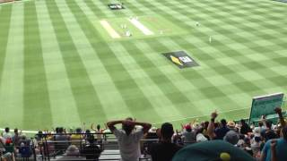 Nathan Lyon brilliantly ruins the 'Nice Gary' world record attempt (Boxing Day Test, 2016)