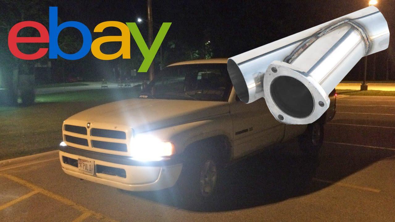 1998 dodge ram 1500 ebay exhaust cut out