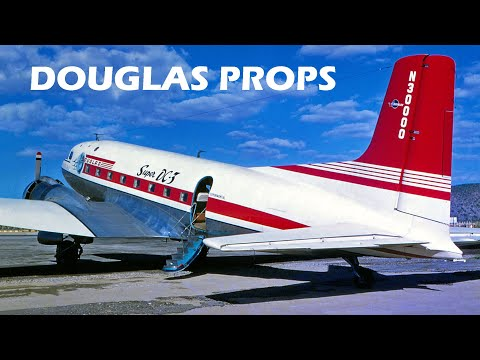 DOUGLAS AIRLINERS - Part 1 of 3