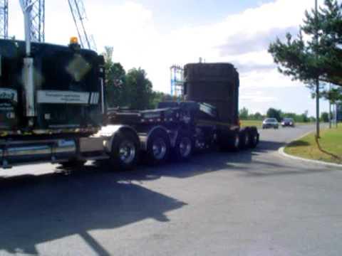 Transport Chainé inc. - Heavy haul / Transport spécialisé - 160 000 lbs transformer