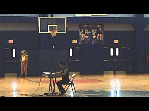 Peter playing at the Woodmont High School Pep Rally - Rondo Alla Turca, Mozart