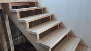 как самому сделать деревянную лестницу в своем доме