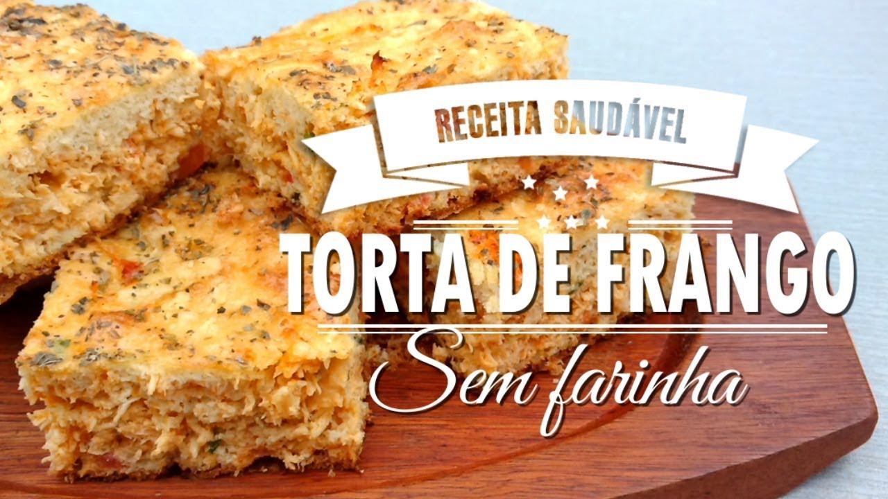 TORTA DE FRANGO SEM FARINHA| Mamãe Vida Saudável #50