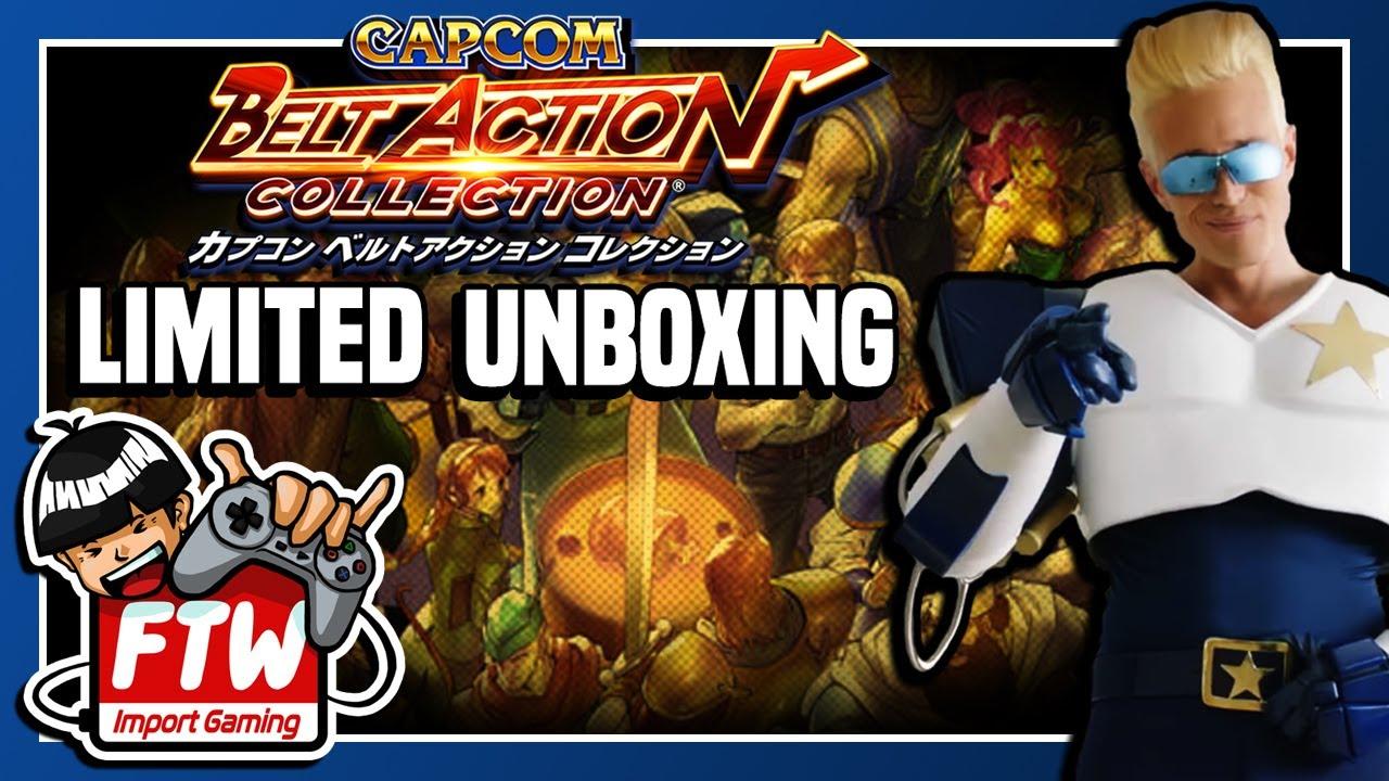 Unboxing the Japan Exclusive Capcom Belt Action/Beat 'Em Up Bundle  Collector's Box