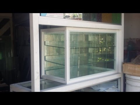 Muebles de tiendas vitrinas mostradores anaqueles e - Vitrinas empotradas en pared ...