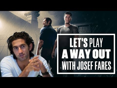 Let's Play A Way Out with Josef Fares  A Way Out Gameplay