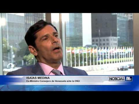 Isaías Medina habla sobre su renuncia a comisión de la ONU - Alo Buenas Noches 20-07-2017 Seg. 04