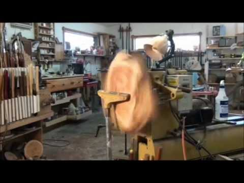 Shopbuilt outboard Wood Lathe tool rest  YouTube