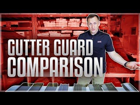Gutter Guard Review Comparison   Home Depot, Lowes, Menards – Gutter