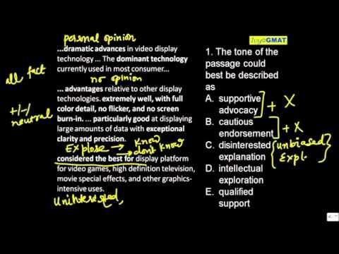 GMAT Reading Comprehension OCTAVE - 1