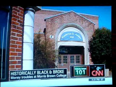 Morris Brown College on CNN -- 3/28/09