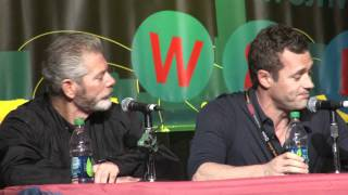 stephen lang jason o mara terra nova on being type casted for their career nycc 2011