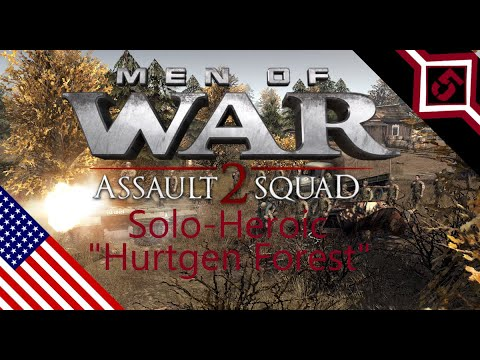 [men of war assault squad 2] USA mission 1 - Solo(Heroic Ai) |