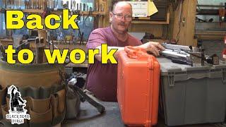 I am back in the blacksmith shop