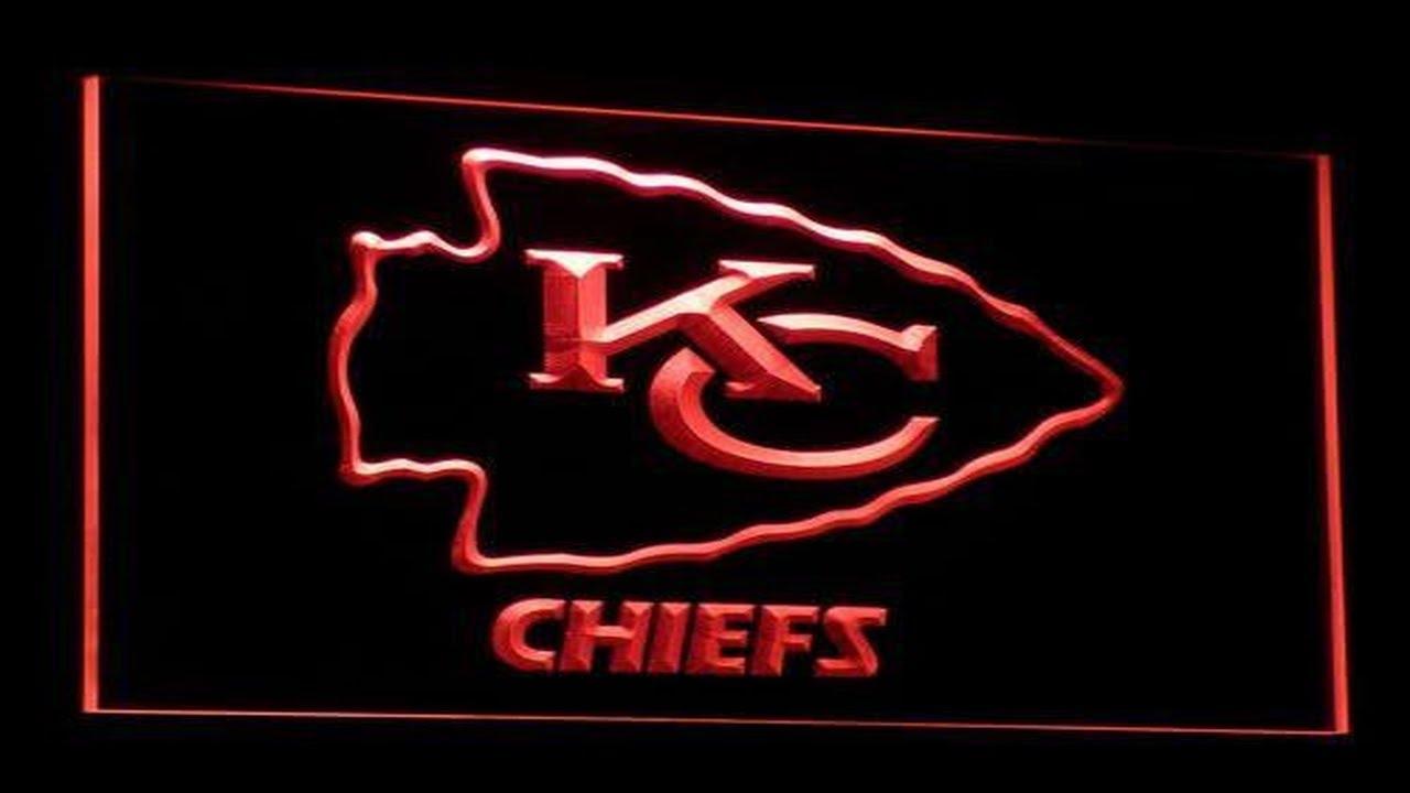 Kansas City Chiefs Led Neon Sign Youtube