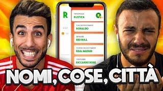 NUOVO QUIZ! NOMI - COSE - CITTA' vs FIUS GAMER | INDOVINA LA PAROLA CHALLENGE