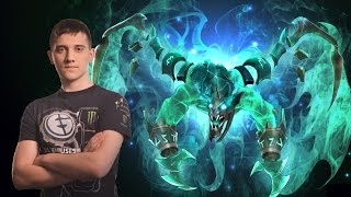 Arteezy Visage #1 plays in Dota 2