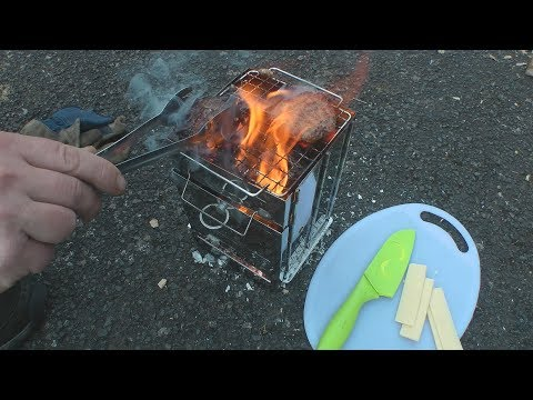 Trying Out Ebay Chinese Folding Fire Box Stove