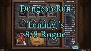 Hearthstone: Kobolds and Catacombs Rogue 8/8 Dungeon Run