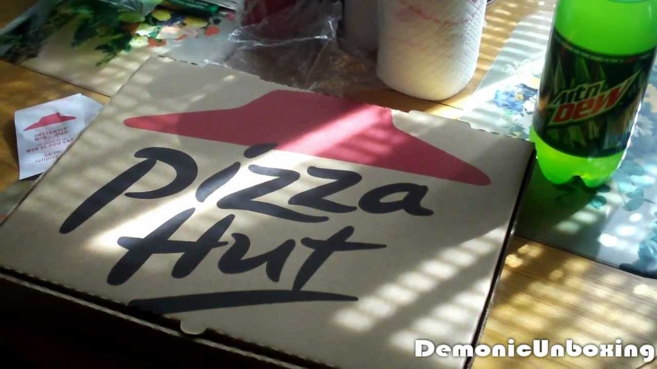 10 Pizza Hut Dinner Box Unboxing Youtube