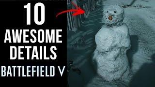 10 AWESOME Details in Battlefield V
