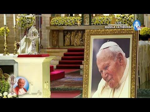 Holy Mass & Veneration of the Relic of St. John Paul II | 7 April 2018