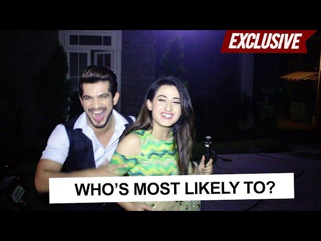 Whos most likely to with Alisha Panwar & Arjun Bijlani | Ishq Mein Marjawan