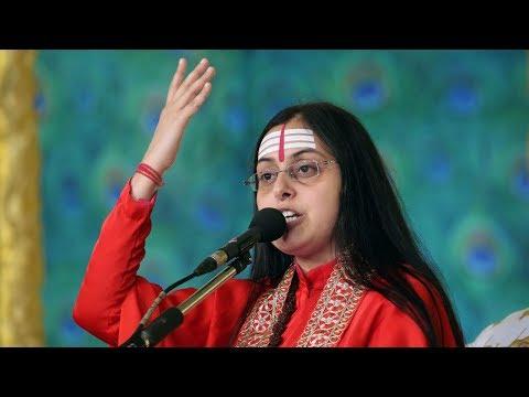 Sadhvi Vaishnavi Bharti Ji infusing patriotism inside masses | Shrimad Bhagwat Katha